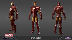 Iron Man. game character design model 3d best game femail girl