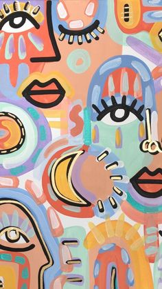 Hippie Wallpaper, Pastel Wallpaper, Iphone Background Wallpaper, Aesthetic Iphone Wallpaper, Cute Patterns Wallpaper, Hippie Art, Diy Canvas Art, Photo Wall Collage, Cute Wallpapers