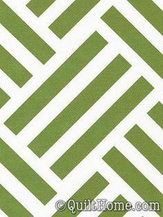 Bekko Parquet Grass Home Dec Fabric by Trenna Travis