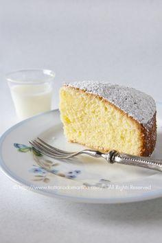 La vera ricetta della torta paradiso, quella che va montata a mano e preparata con cura e amore per un risultato da urlo
