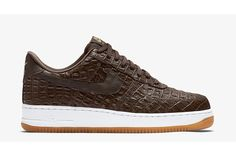 UPDATE: A late entrant to the mix, but not to be forgotten, these 'Chocolate Brown' Croc AF1 LV8s round outs the pack. All three can be found right now at select Nike accounts globally. Trends…