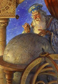 """The Astrologer"" -Scott Gustafson"