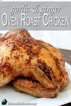 Once you try this delicious roast chicken you'll understand why I make it so often! It's so good!