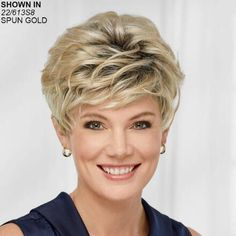Wigs on Sale - Limited-Time Discounted Wig Prices | Paula Young Short Hair Wigs, Short Hair Styles, Quality Wigs, Womens Wigs, Hair Pieces, Braided Hairstyles, Salons, Braids, Pixies