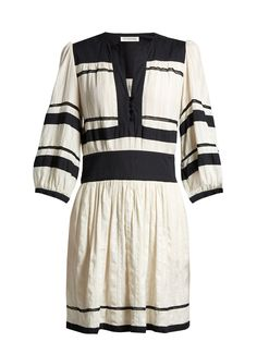 Isabel Marant Etoile Ramsey V-neck gauze dress