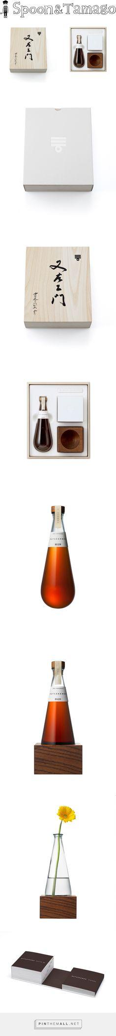 Packaging Design for Mizkan Vinegar by Taku Satoh via Spoon & Tamago curated by Packaging Diva PD.