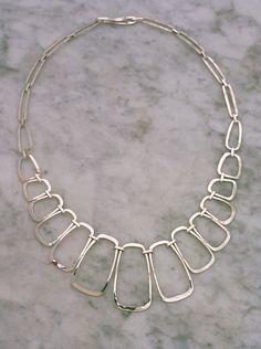 Necklace | Paul Griswold.  Sterling silver.