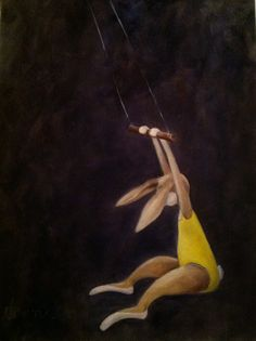 The Amateur...oil on canvas, by Dawn