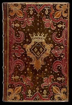 Antoine Michel Padeloup bookbinding 18c. British Library - Davis538