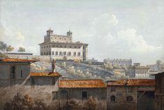 Villa Medici (John Warwik Smith 1784)