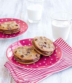 Chocolate chip cookie sandwich | american girl baking | Weldon owen