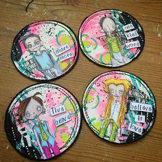 Clare Lloyd: Artist Trading Coins