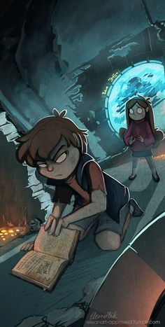 Dipper: You trusted him over me. Mabel: Dipper I..... Dipper: NO MABEL!! I don't…