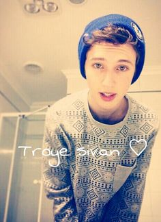 Troye sivan ♡ he so funny and adorable and a real inspiration! I would love to meet him!