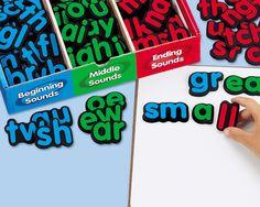 Magnetic Word Builders  #LakeshoreDreamClassroom