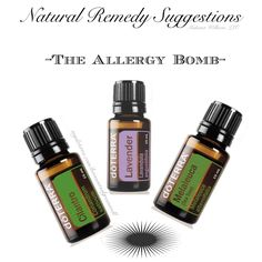 """Take 2-3 drops each of Cilantro, Melaleuca and Lavender in a capsule. This tip sourced from """"The Essential Life"""" book, 2nd Edition."""