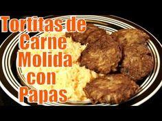 Tortitas de Carne Molida, con Papas | Casayfamiliatv