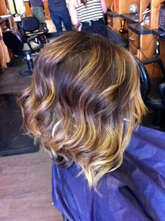 Alex Crabtrees Hair and Make-up Blog: Hair Color Trends: Ombre, Melting, & High/Low Lights