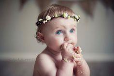 Something sweet for your little flower girl :)   FOREST HALO, Wreath for Flower Girl Romantic Fairy by ManniaTitta on Etsy