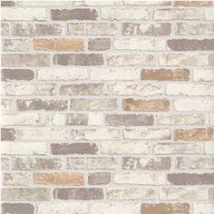 Erismann Brix Brick Wall Effect Embossed Textured Wallpaper 6703-11