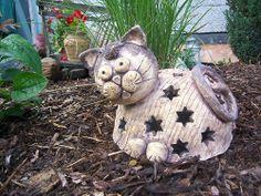 :) Terracotta, Garden Sculpture, Sculptures, Teddy Bear, Pottery, Clay, Fantasy, Christmas Ornaments, Toys