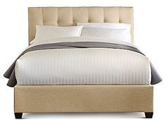 jcpenney Sierra Upholstered Bed on shopstyle.com