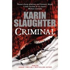 Hearing great things about this book. #KarinSlaughter #thrillers. Good read!!!!!