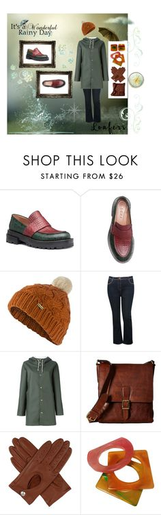 """All Season Group Loafers"" by giselsimon ❤ liked on Polyvore featuring Barbour, M&Co, Stutterheim, Frye, Dents and Yves Saint Laurent"