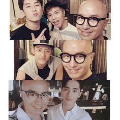 ShangYin Actors and Tony Hong  #Addicted #HaiLuoYin #GuHai #BaiLuoYin #Heroin #HuangJingYu #XuWeiZhou #ZZ #ShangYin #YangMeng #YouQi #CantWaitforSeason2 #TonyHong #LinFengSong #ChenWen