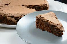 Gâteau au chocolat léger léger ou comment utiliser ses blancs d'oeufs au lieu de faire des meringues...