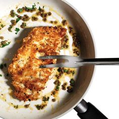 Crispy Parmesan Chicken Recipe  - Photo by: Plamen Petkov http://www.womenshealthmag.com/nutrition/chicken-parmesan-recipe