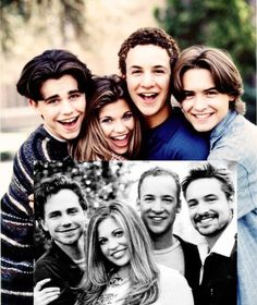 """""""Boy Meets World"""" cast then-1998 and now~ still one of my all time favorite TV series! <3"""