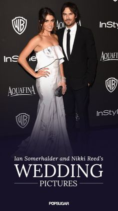 Go inside Ian Somerhalder and Nikki Reed's wedding! Click through to see the breathtaking pictures.
