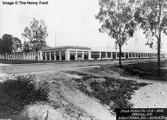 Planta Ford, Calz. de Guadalupe, 1932.