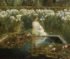 Lilies - Frederick Childe Hassam
