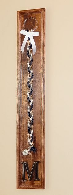 Cord Of Three Strands Wedding Plaque Rustic by UnityWeddingBraids