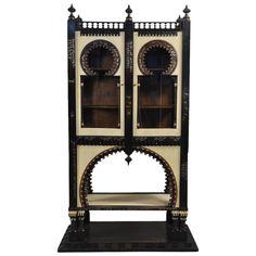 Important and Rare Cabinet by Carlo Bugatti