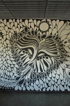 ©MarianoPadilla - Mural - Wall Painting - Uni Posca on 20m² wall - Sensei La Horqueta