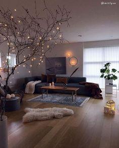 A Dreamy living room Do you agree? Credits Via WOW! A Dreamy living room Do you agree? Home Decor Inspiration, Home Living Room, Interior, Apartment Living Room, Cheap Home Decor, House Interior, Apartment Decor, Cozy Living, Dreamy Living Room