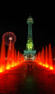 Kings Island - Cincinnati, Ohio. Went all the time while growing up! Next time we're back in Ohio this is on my to do list!