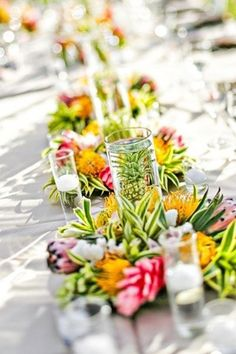 Tropical Wedding. Wedding Reception Guide#Tropical Wedding ... Wedding ideas for brides & bridesmaids, grooms & groomsmen, parents & planners ... https://itunes.apple.com/us/app/the-gold-wedding-planner/id498112599?ls=1=8 … plus how to organise an entire wedding, without overspending ♥ The Gold Wedding Planner iPhone App ♥