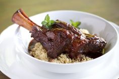 Indian Spiced Braised Lamb Shank