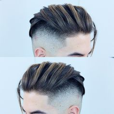 Cool hairstyles for men, mens hairstyles medium undercut, undercut fa Undercut Fade Hairstyle, Mens Hairstyles Fade, Cool Hairstyles For Men, Top Hairstyles, Fade Haircut, Haircuts For Men, 2018 Haircuts, Long Undercut Men, Men Haircut 2018