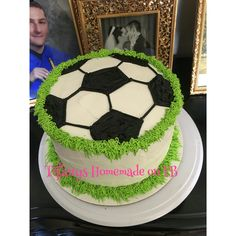 Tiffanys Homemade on Facebook Soccer cake