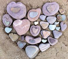 Heart stones - Ireland, Brenleigh, Co. Kerry