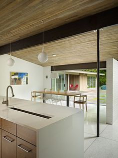 Lakewood Mid-Century - midcentury - kitchen - seattle - DeForest Architects