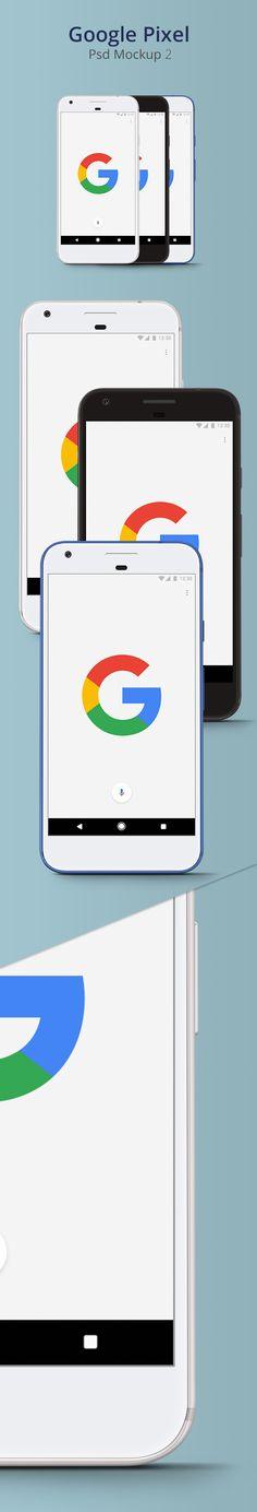 Free Google Pixel Psd Mockup 2 (22 MB)   Greative Crunk   #free #photoshop #mockup #psd #google #pixel