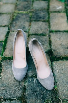 Suede wedding shoes: http://www.stylemepretty.com/little-black-book-blog/2015/06/22/rustic-summer-wedding-at-marianmade-farm/ | Photography: Emily Delamater - http://emilydelamater.com/