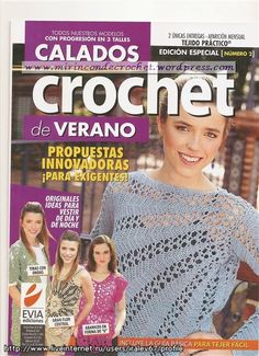 Revista para descargar   Mi Rincon de Crochet