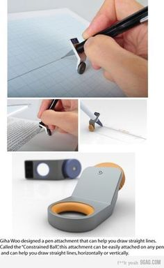 Draw straight lines without a ruler!